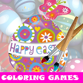 Easter Egg Coloring Games Kids