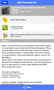 MCC Performing Arts Center- screenshot thumbnail