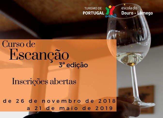 3ª edição do curso de Escanção na Escola de Hotelaria e Turismo do Douro - Lamego