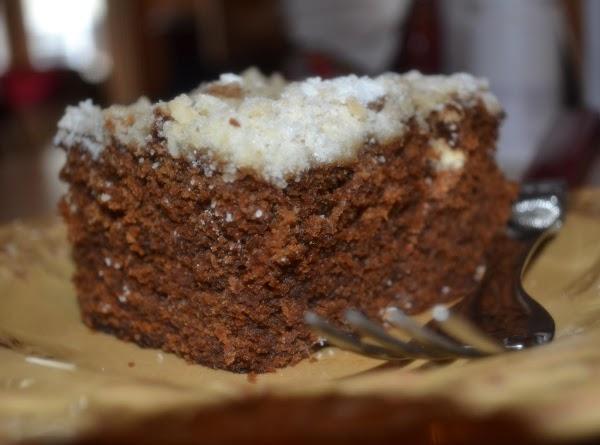 Molasses Spice Crumb Cake Recipe