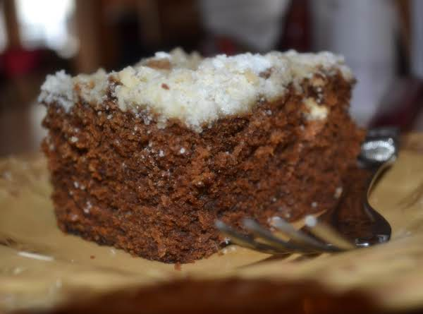 Molasses Spice Crumb Cake