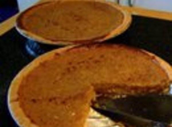 Yellow Squash Cream Pie Recipe