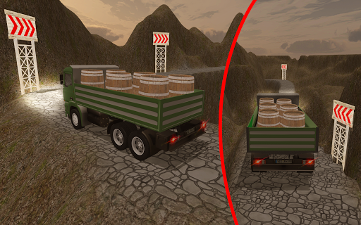 3D Truck Driving Simulator - Real Driving Games 2.0.024 screenshots 5
