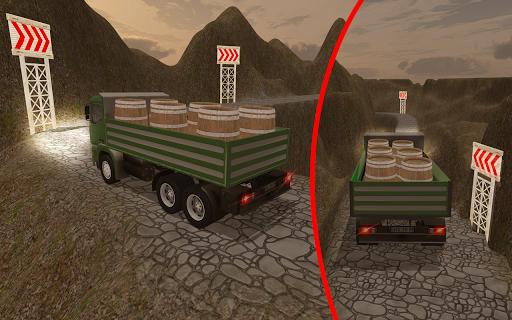 3D Truck Driving Simulator - Real Driving Games screenshot 5