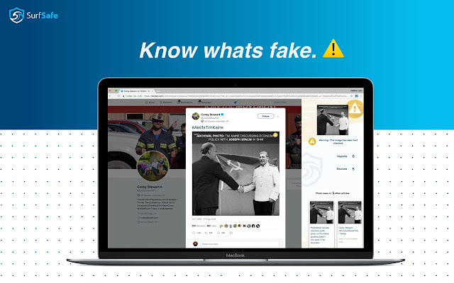 SurfSafe - join the fight against fake news