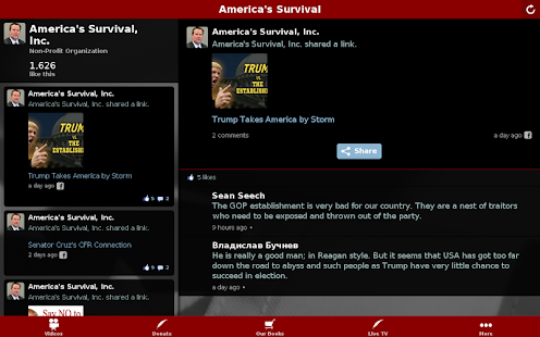America's Survival- screenshot thumbnail