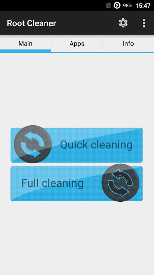 Root Cleaner- screenshot