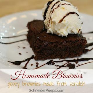 Ultimate Homemade Brownies.