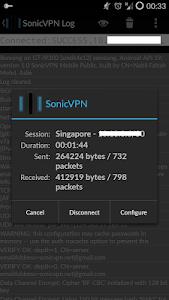 SonicVPN - Premium screenshot 1