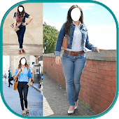 Jeans Selfie - Women Dress
