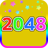 2048 Number Puzzle Game Colors
