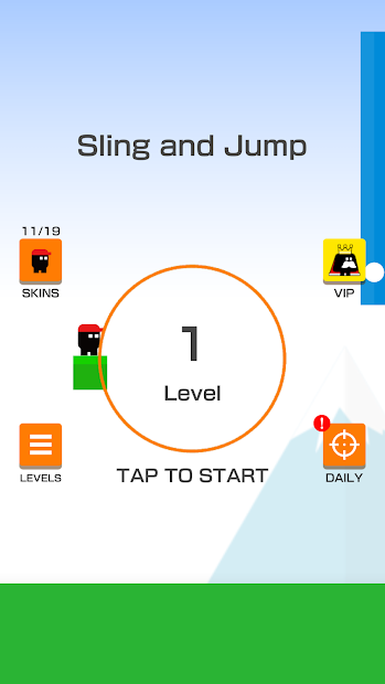 Sling and Jump Android App Screenshot
