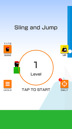 Sling and Jump Android App Screenshot