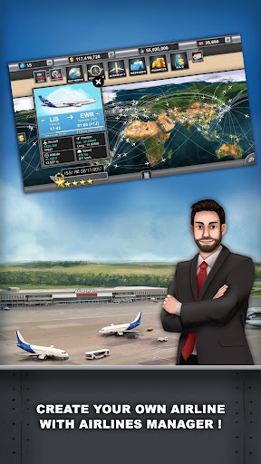 Airlines Manager - Tycoon 2018  screenshots 1