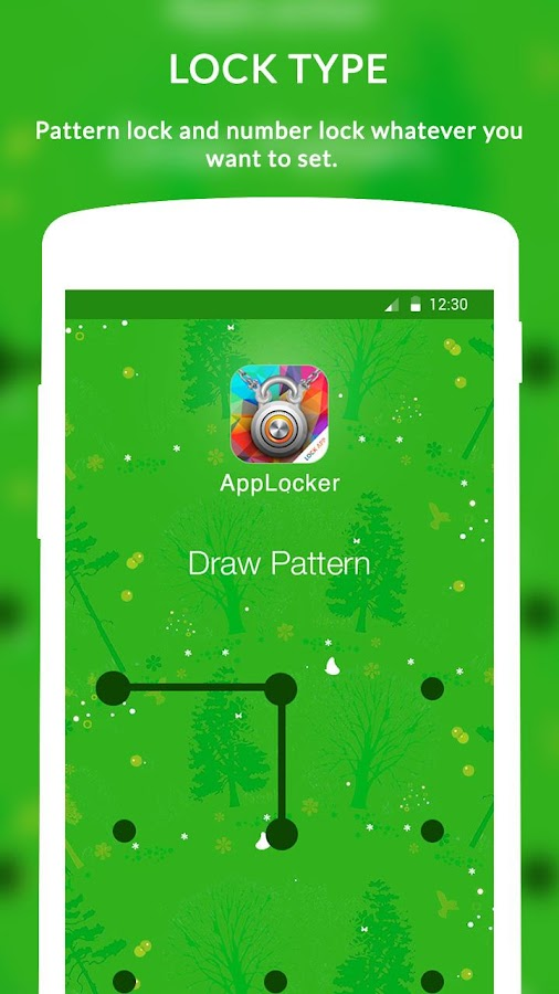 AppLocker- screenshot