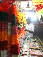 Photo: Year 2 Day 135 -  Stall in Little India