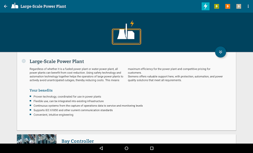 Products for Energy Automation- screenshot thumbnail