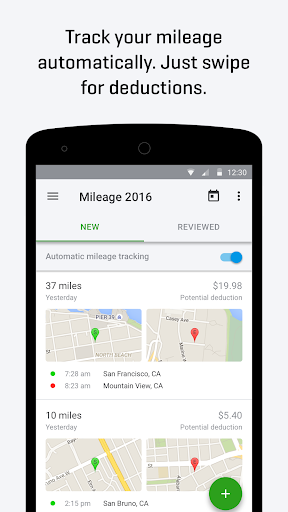 QuickBooks Self-Employed: Mile Tracker, Taxes Screenshot