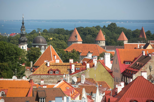 Tallinn-cityscape-3.jpg - The charming cityscape of Tallinn, Estonia, recalls its medieval past.