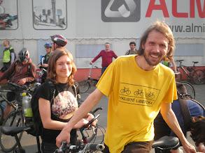 Photo: Pavel Matějka (Cyklisté Liberecka)  Autor: Sylva Švihelová