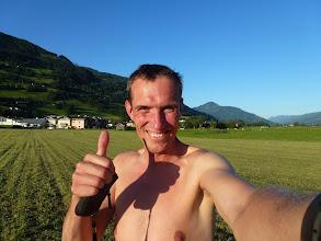 Photo: ( Stubnerkogel )  naja, bis fast nach Zell am See bin ich noch gekommen (fast nichts weggeschnitten)!!!
