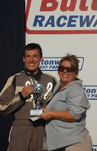 Photo: Terran Swanson getting his trophy 1st place in class 4th overall Submitted by Kim Madrid