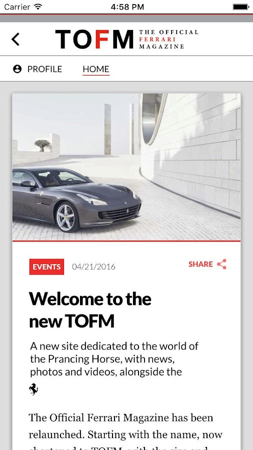 Ferrari Mag- screenshot