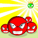 Red ball VS Green King Shooter Icon