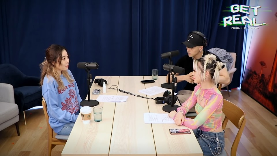 3 get real podcast famous fame kpop idol cons downsides ladies code ashley choi kard bm alexa