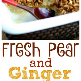 Fresh Pear Desserts Recipes