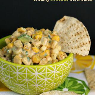 Tuna Tacos with Creamy Avocado Corn Salsa Recipe