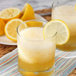Frozen Gold Rush Cocktail.