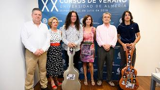 Inauguración del seminario, en el Museo de la Guitarra.