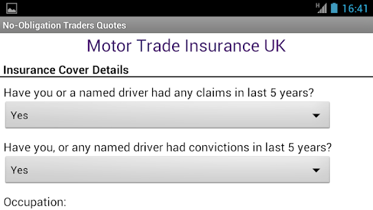 Motor Trade Insurance UK App Latest Version Download For Android and iPhone 6