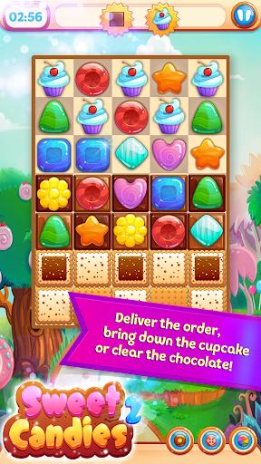 Sweet Candies 2 - Cookie Crush Candy Match 3  screenshots 3