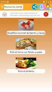 Recetas del chef for PC-Windows 7,8,10 and Mac apk screenshot 6