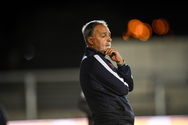 Emilio Ferrera après la défaite contre le Standard :
