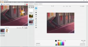 Cách đổi giao diện phông nền trên Scratch
