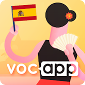 Learn Spanish Vocabulary with Flashcards - Voc App