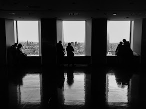 Photo: People look out over Tokyo from the Sunshine Tower in Ikebukuro