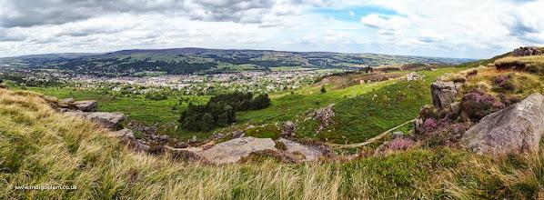 Photo: Ilkley Moor 180 degree panorama