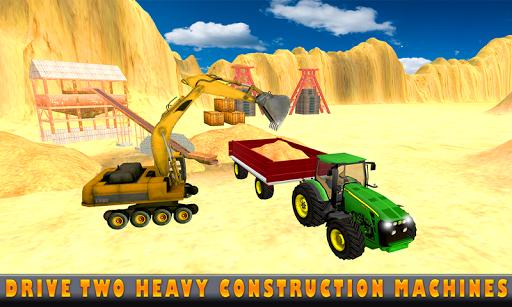 Sand Excavator Tractor Sim