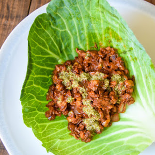 Vegan Walnut Mushroom Ragout (Lettuce Wraps) Recipe