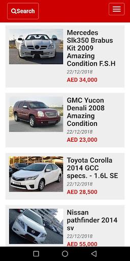 Used cars for sale Dubai UAE ss1