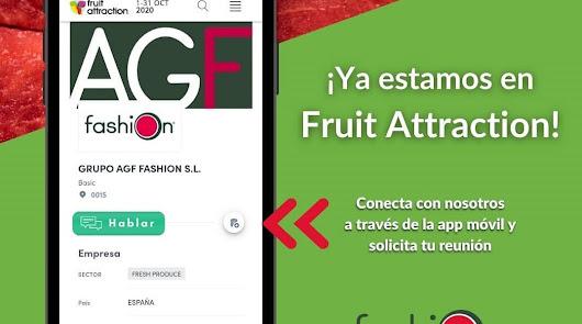 El valor de la Sandía Fashion se muestra en Fruit Attraction LiveConnect