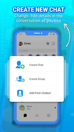 Fake messenger chat, fake chat, prank chat screenshot 5