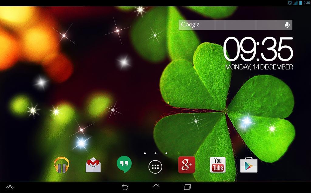 green clover wallpaper - photo #35