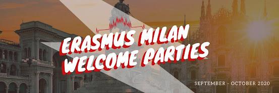 Erasmus Welcome Parties - September 2020