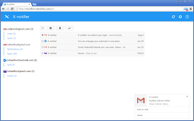 X-notifier Neo
