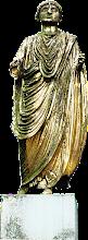 Photo: The Emonian - an almost life-size statue from Emona (modern Ljubljana)
